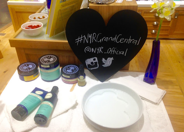 neals yard remedies blogger event organic skincare #nyrgrandcentral new store