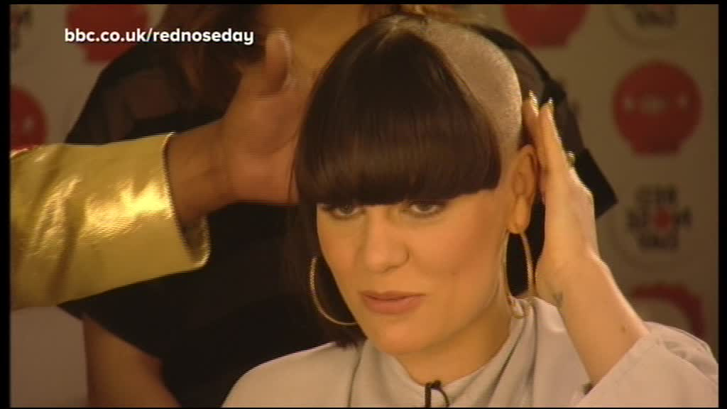 Jessie J Headshave ~ Prom Hairstyles