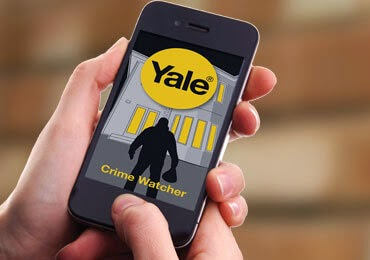 Find out about the crime in your local area with the Yale Crime Watcher App