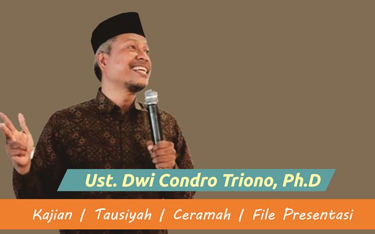 Download Kajian Ust. Dwi Condro Triono
