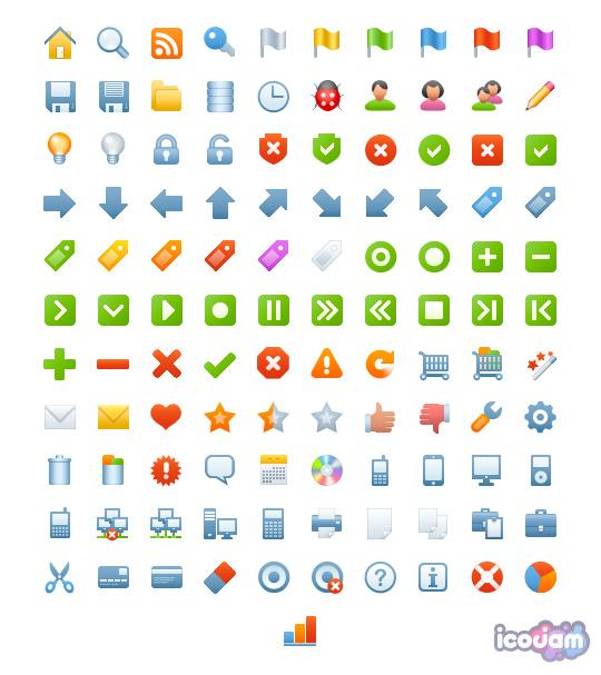 Blueberry Basic icon sets