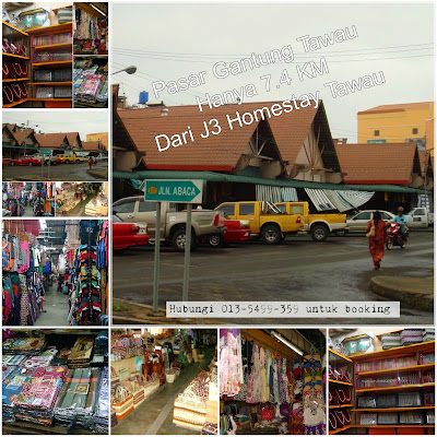 Pasar Gantung Tawau