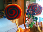 Yummy cookie pops:)
