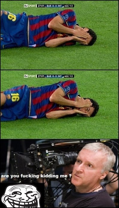 Sergio Busquets (The Diver) Catched On Camera