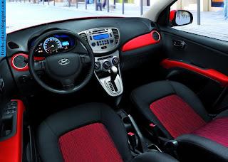 Hyundai i10 car interior - صور سيارة هيونداى i10 من الداخل