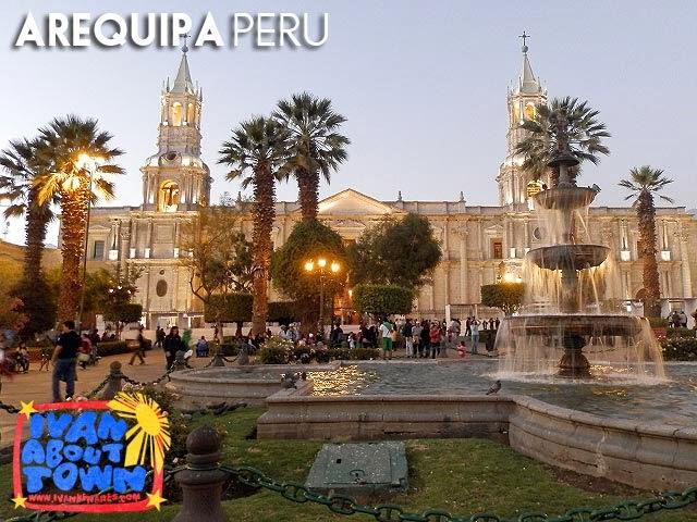 Plaza de Armas, Arequipa, Peru