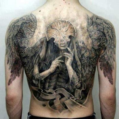 desenhos de tatuagens de anjos da morte