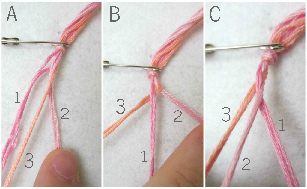 The Red Kitchen Simple Braided Friendship Bracelet A Tutorial In 5 Easy Steps