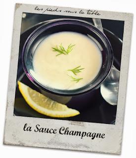 la Sauce Champagne