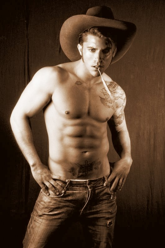 Sexy male cowboy costume
