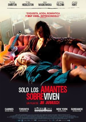 Poster Only Lovers Left Alive 2013
