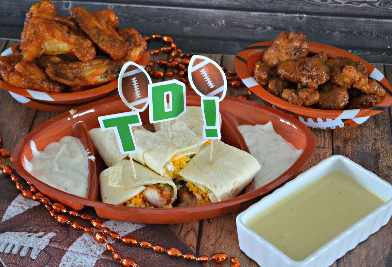 Deli Wings, Prepared Wings, Hot Wings, Fresh Wings, General Tso's Wings, Tarragon Mustard Dipping Sauce.  Dipping Sauce Recipes.  Hot Wing Sauce recipe.  General Tso's Ranch Roll-Up recipe.  BBQ Chicken Roll-Ups