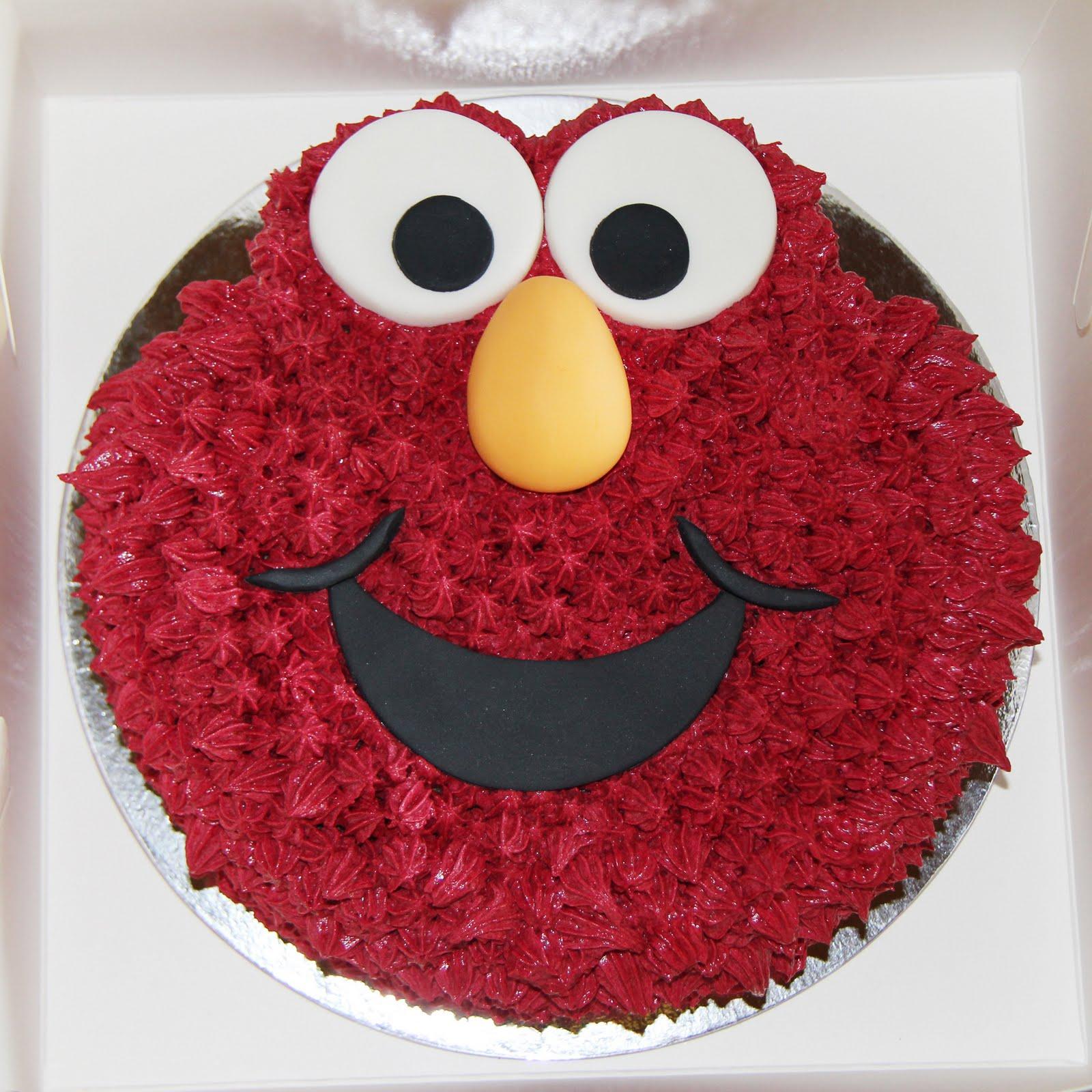 Coco Jo Cake Design: Elmo