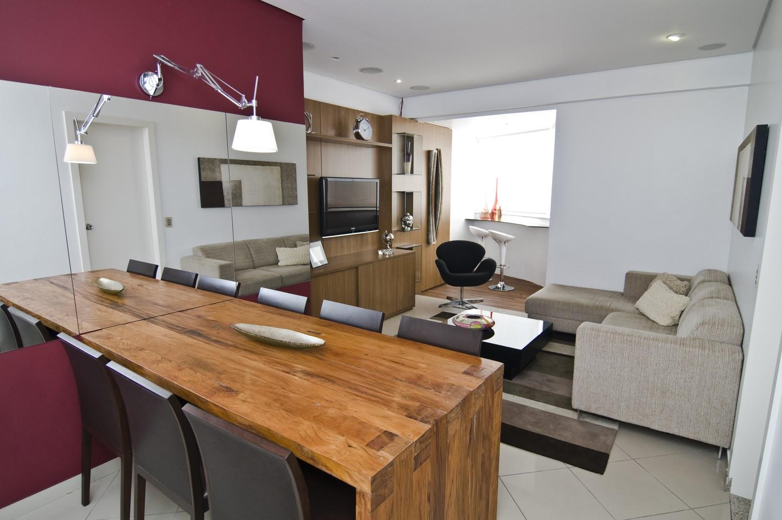 Já nesse apartamento utilizamos na mesa de jantar com um desenho  #946337 1600x1063