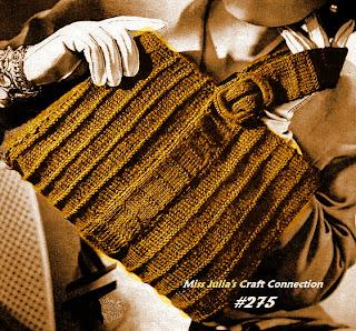 Vintage Knit Scarf PDF Pattern - eCRATER - online marketplace, get