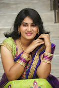 Krishnaveni glam in half saree-thumbnail-8