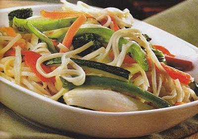 receta de cocina de verduras al vapor sencillas