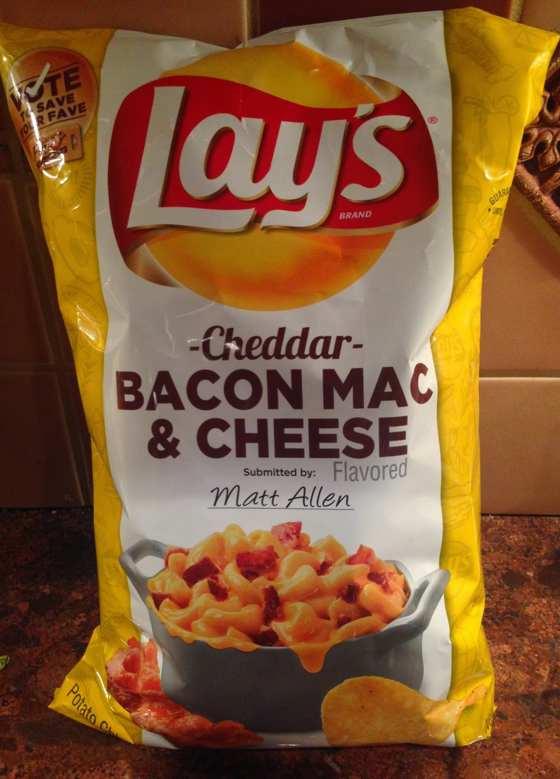 ... Talk: PRODUCT REVIEW: Lay's Cheddar Bacon Mac N Cheese Potato Chips