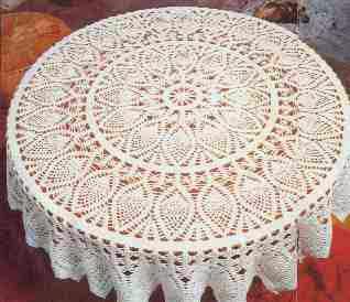 Patrones De Manteles Tejidos En Crochet