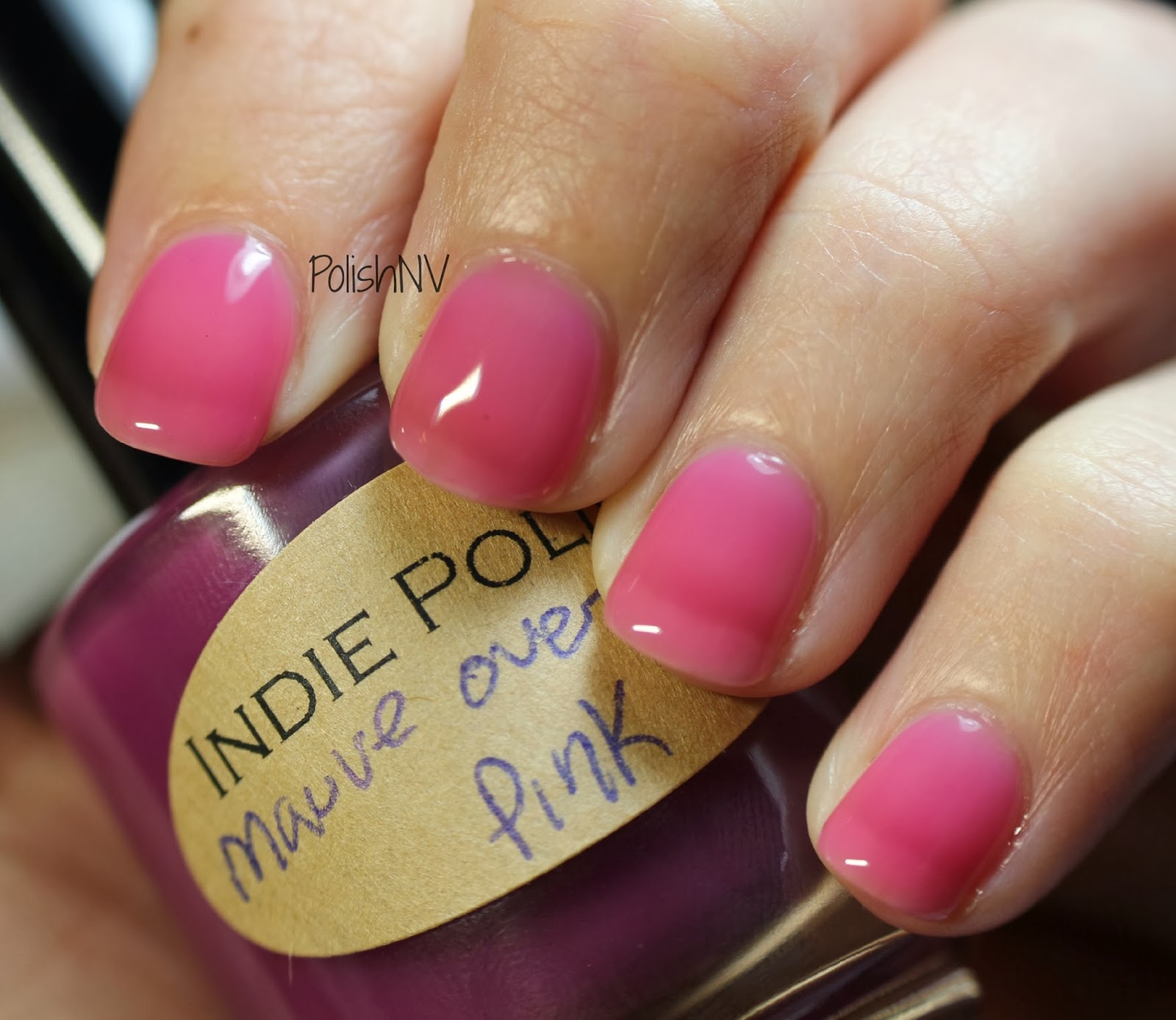 Mauve Over Pink