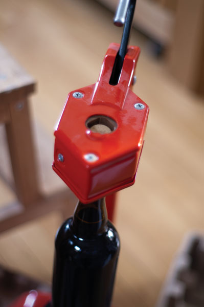 A Corker Of Some Sort, Though A Floor Corker Will Make Your Corking Much  Easier And Enjoyable.  Carabiner, Champagne Tightener, Or Something Else To  Twist ...