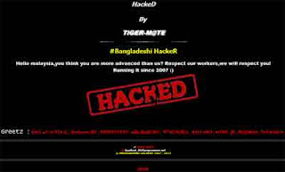 deface, hacker