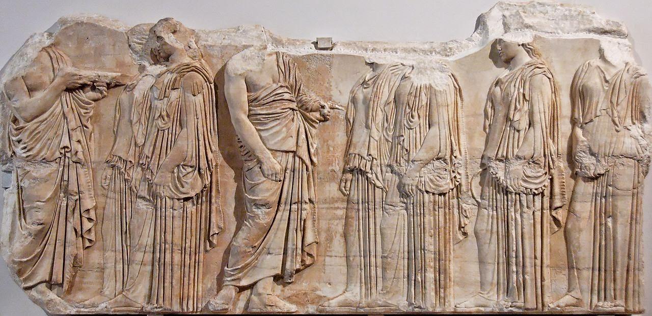 bensozia the parthenon frieze and the sacrifice of erechtheus