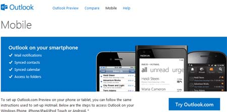 outlook.com para moviles