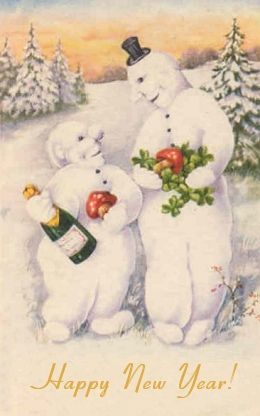 creepy snowmen