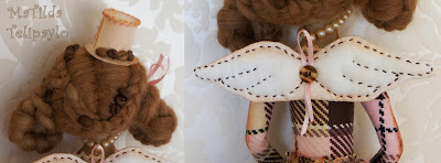 Авторская текстильная интерьерная кукла Юлии Телипайло