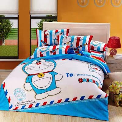 Desain Kamar Tidur  Anak Lucu Doraemon