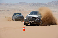 2011 Mercedes-Benz M-Class W 166 Testing mule rigidity durability tough trial comfort handling