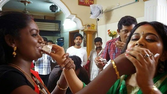 Karuthamuthu Serial 2014 X'mas Celebration Photos