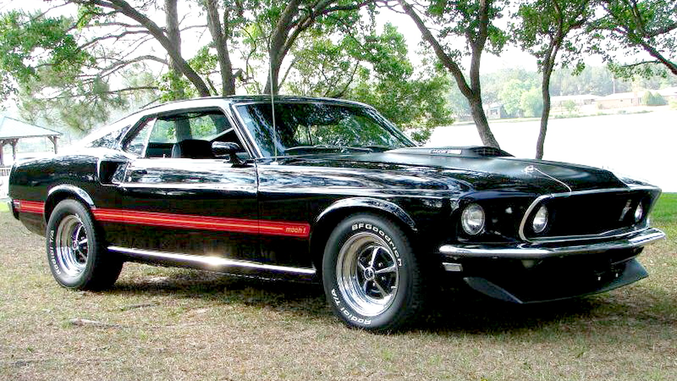 fastest ford mustang part 5 1969 mach 1 cobra jet. Black Bedroom Furniture Sets. Home Design Ideas