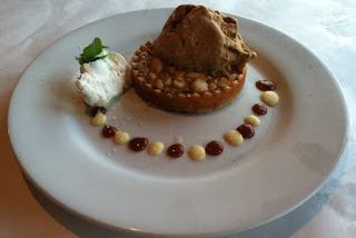 Ocean Boulevard Bistro and Martini Bar dish: White Chocolate and Macadamia Nut Tart