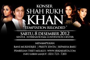 konser shahrukh khan 2012