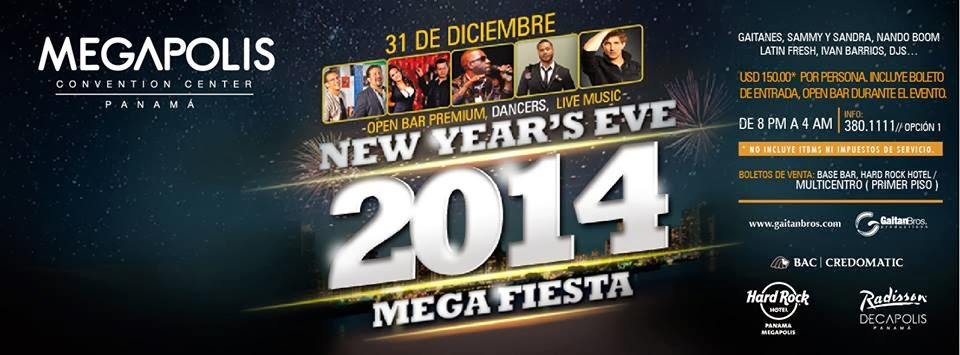 2014 New Year Party.