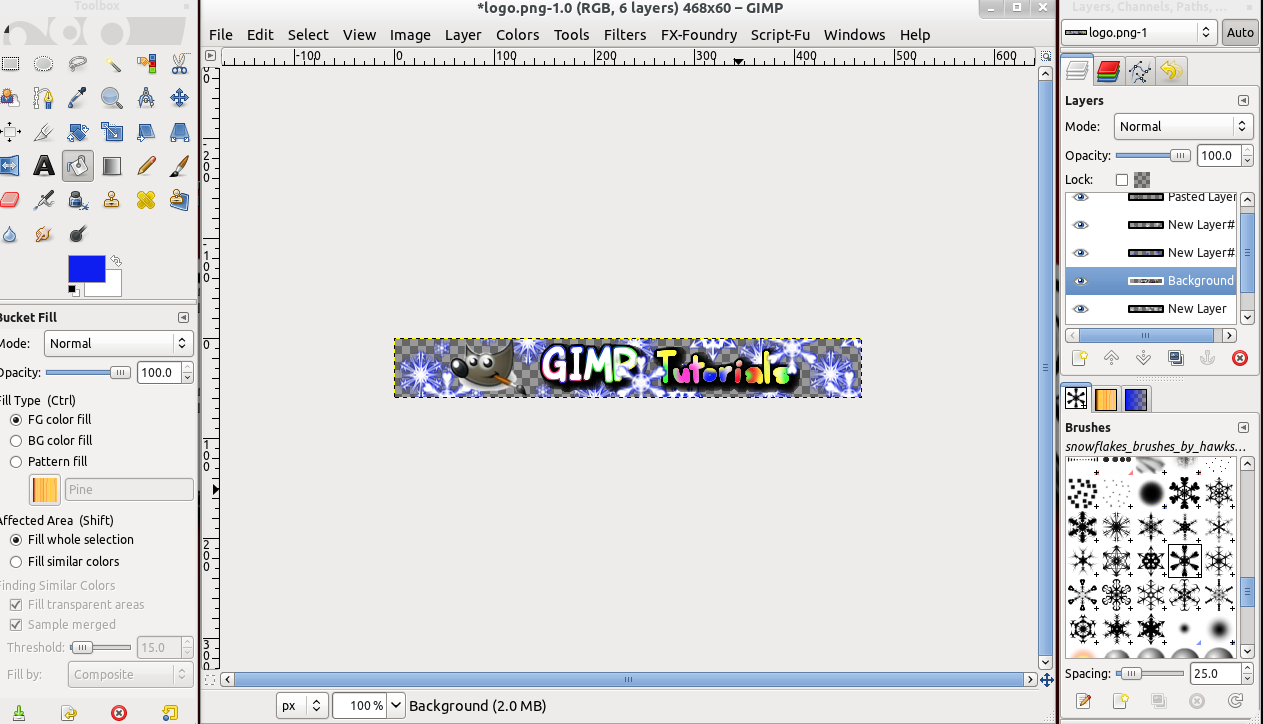 gimp how to turn a selection into a layer