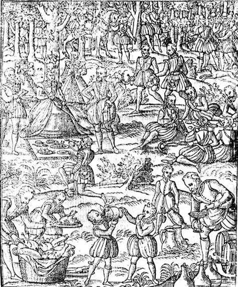 The Tudor Tattler: Pastyme With Good Companye: Hunting
