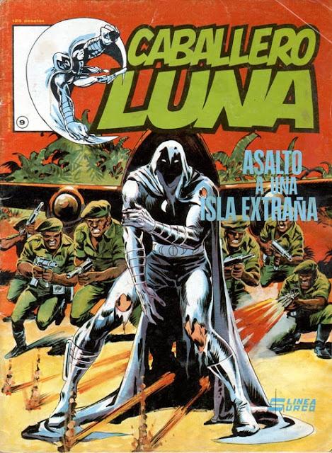 Portada del Caballero Luna Nº 9 Ediciones Surco