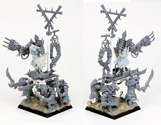 Skaven Warlord on War Litter Conversion