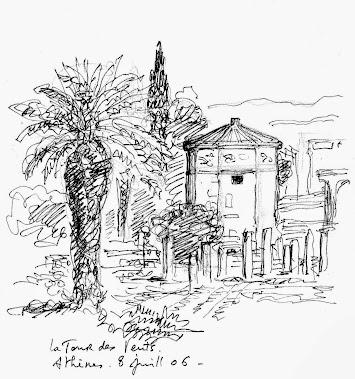 La Tour des Vents, Athènes