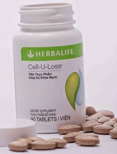 Cell-U-Loss herbalife Da đẹp hơn nhờ cân bằng nước