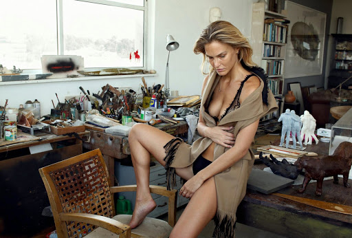 Bar Refaeli AT Magazine September 2015 photo shoot