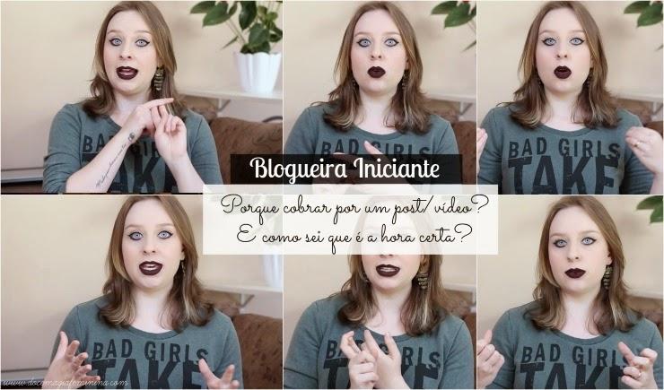 blogueiro iniciante