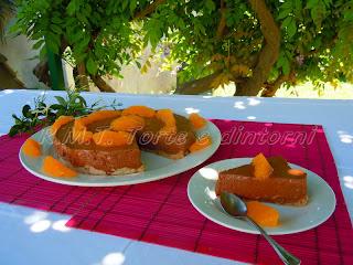 cheesecake arancia e cacao