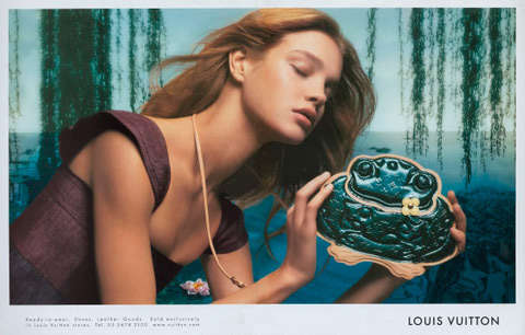 Louis Vuitton. Spring/Summer 2002. Frog Bag. Photographed by Mert & Marcus