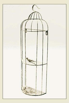 kuş kafesi, askı, dekoratif kafes, askı