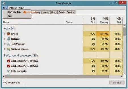 Cara Paling Mudah Dalam Membuka Windows PowerShell sebagai Admin di Windows 8