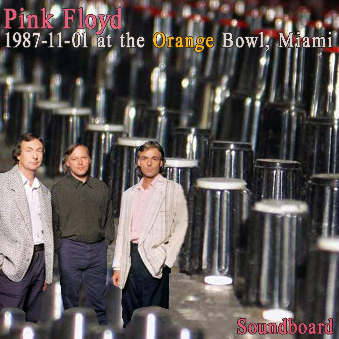 Quality Bootlegs Pink Floyd Miami 1987